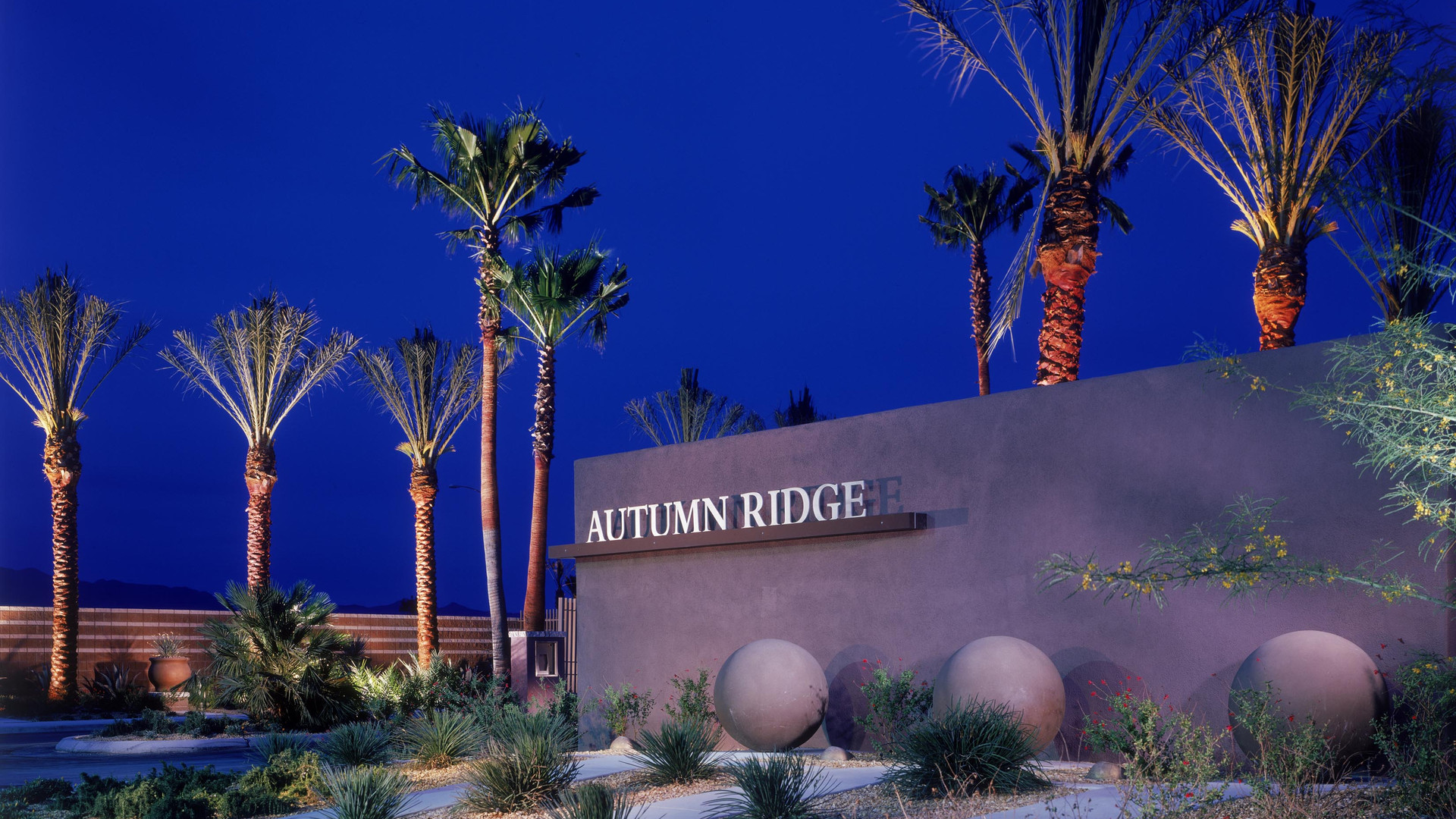 Autumn Ridge top dressing