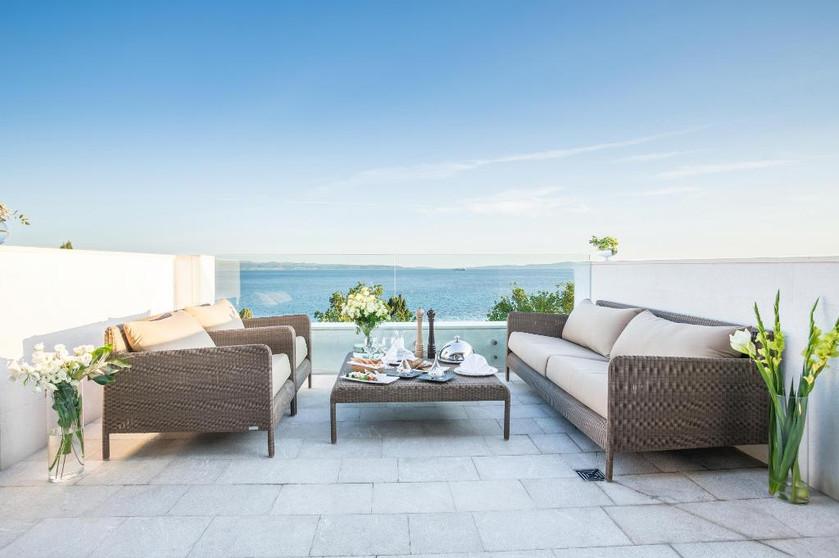 Hotel Park balcony: Split, Croatia