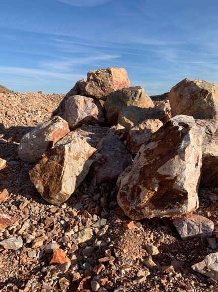 Mojave boulder