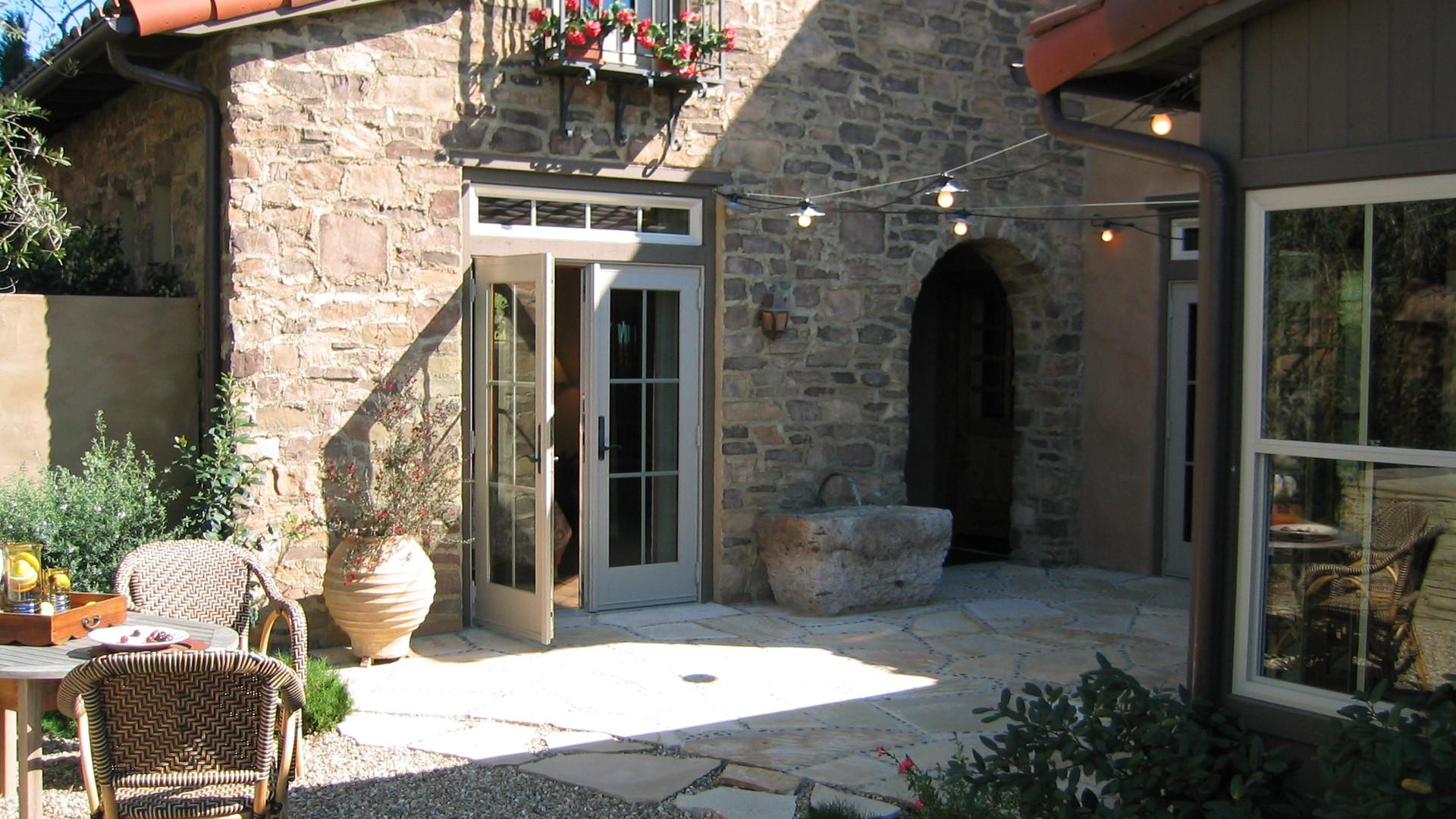Ideal backyard patio