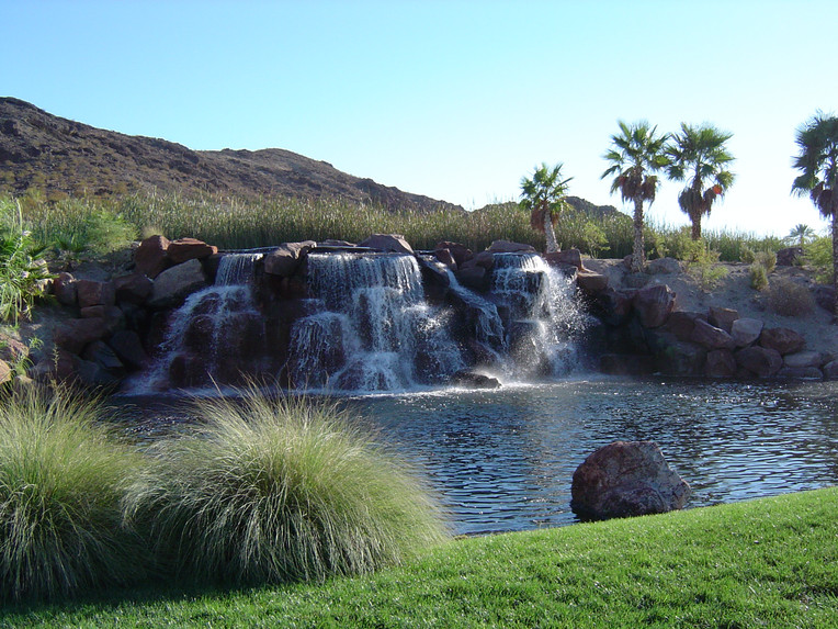 Waterfall golf course