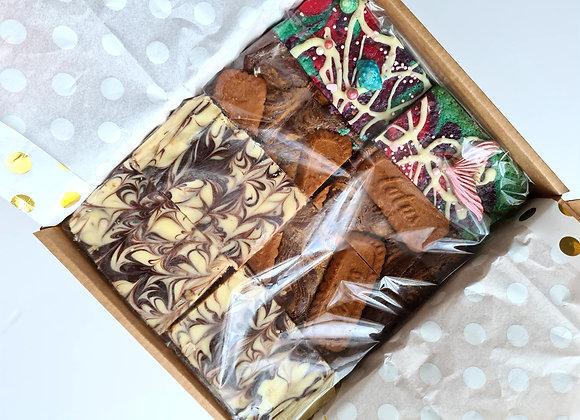 Mixed Trio Box Of Brownies/Blondies