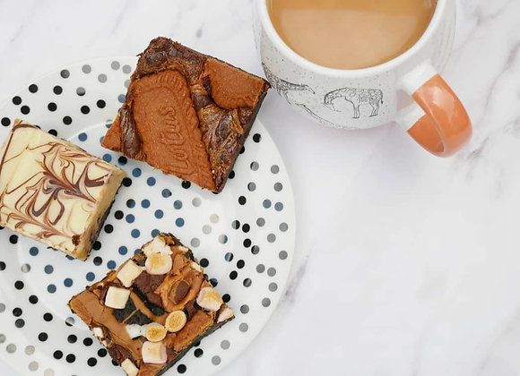Mixed Trio Brownies