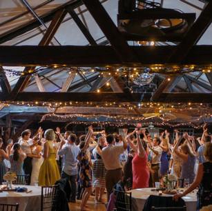 BIG dance floor!