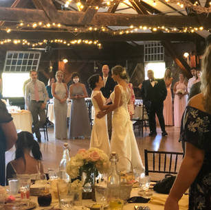 Dance floor is in the center of your guests