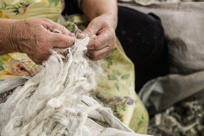 wool cleaning