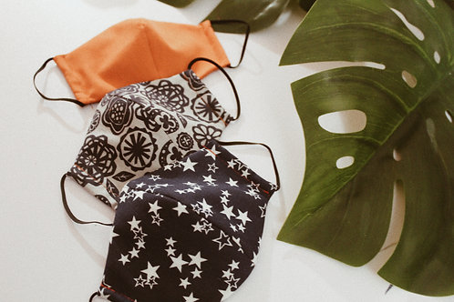 Face Mask with Filter Fabric