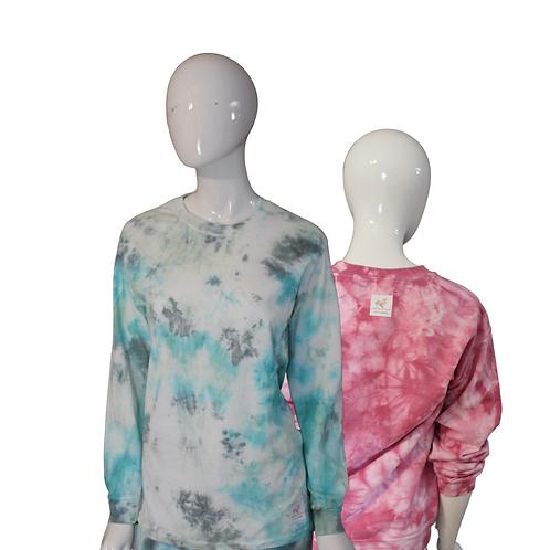 Tie Dye Long Sleeve Crewneck T-shirt