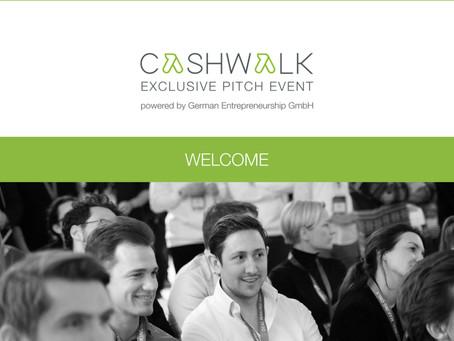 Sechs Startups gewinnen das digitale Pitch-Event CASHWALK