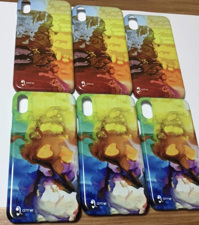 phone case of Seb's paintings