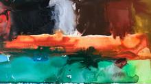 Painting Series by Jean-Sebastien Choo, Self-taught Autistic Artist #18— Two Nature Paintings