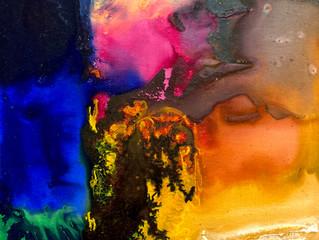 Painting Series by Jean-Sebastien Choo, Self-taught Autistic Artist #11— Symbiosis