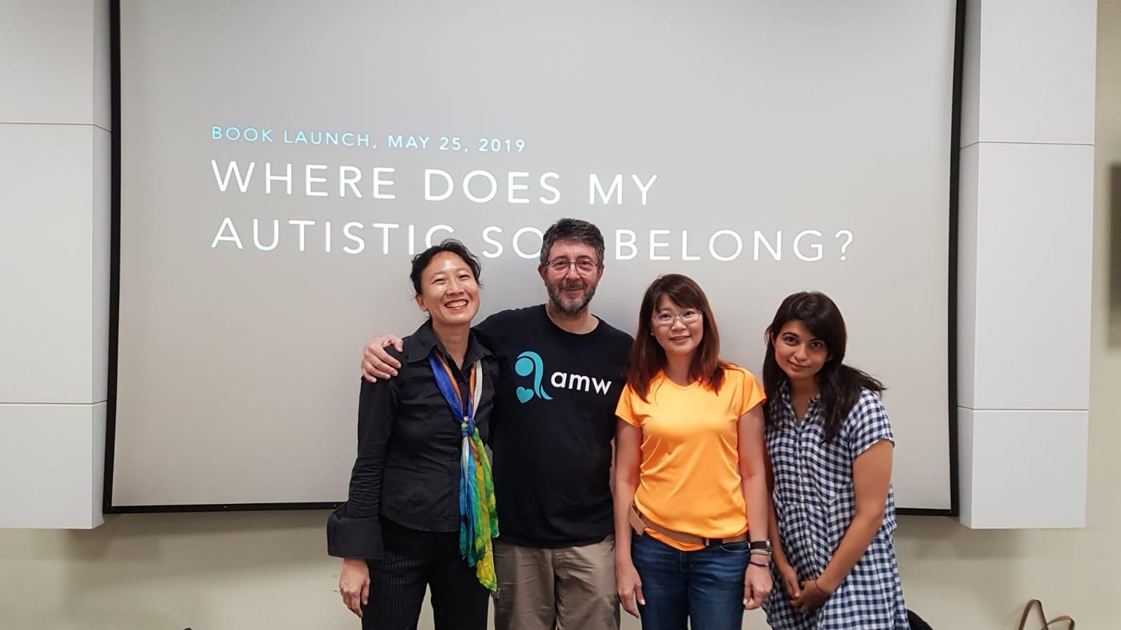 Kah Ying, Jerome, Iris, and Sapna