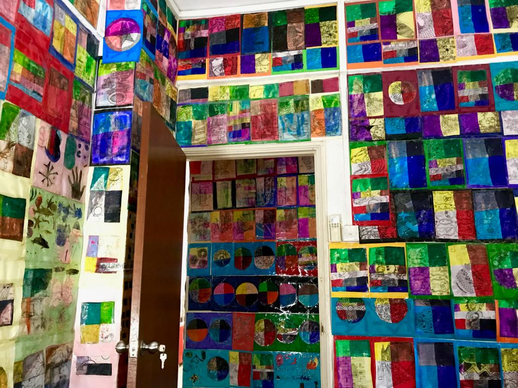 "Sebastien's own ""wallpaper"""