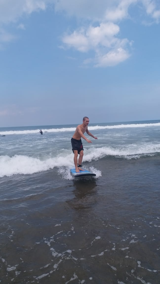 _ Surfing therapy