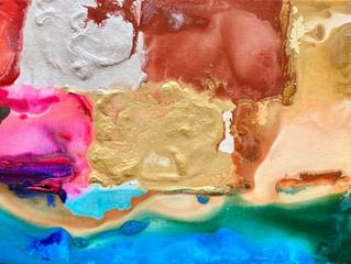Painting Series by Jean-Sebastien Choo, Self-taught Autistic Artist #13— Finding My Bali Flow