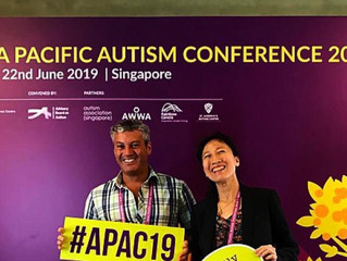 APAC2019 AUTISM CONFERENCE REFLECTIONS