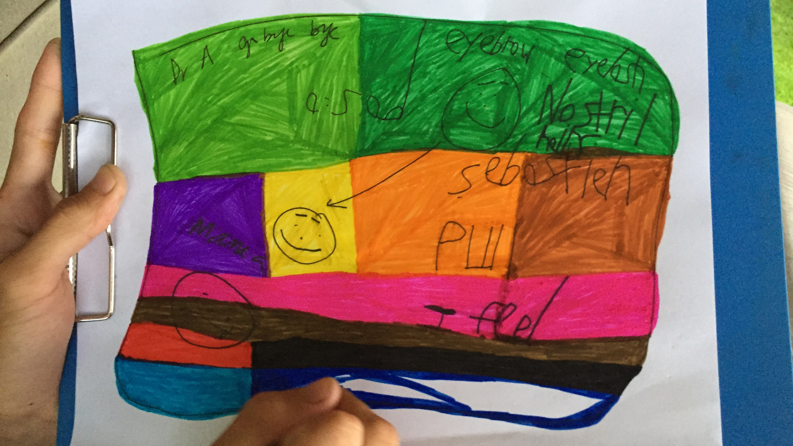 12. rainbow colouring