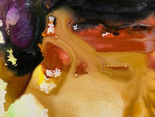 Painting Series by Jean-Sebastien Choo, Self-taught Autistic Artist #7— Soul in My Bones