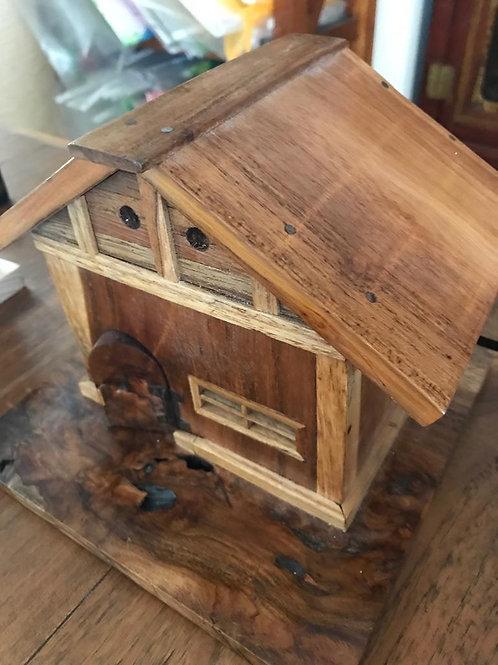 Toy House — Teak Wood