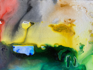 Painting Series by Jean-Sebastien Choo, Self-taught Autistic Artist #9— Extinction Sanctuary