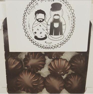מרשמלו רוסי עטוף בשוקולד
