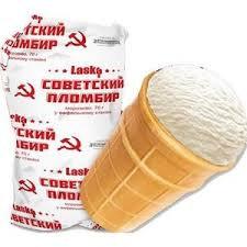 גלידת וניל של רוסים