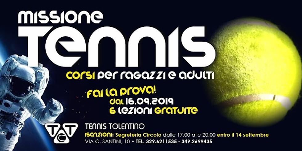 Missione Tennis. Fai la Prova!