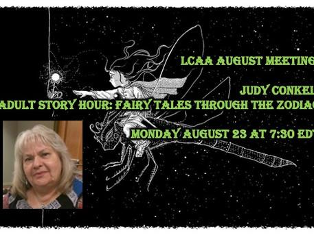 LCAA August Meeting: Judy Conkel