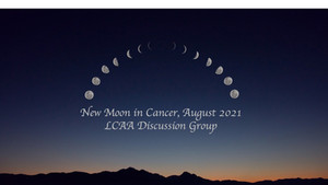 New Moon Discussion August 5th at 7 PM EDT
