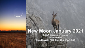 New Moon Discussion Group: Capricorn New Moon. Friday January 8th, 7 PM EST
