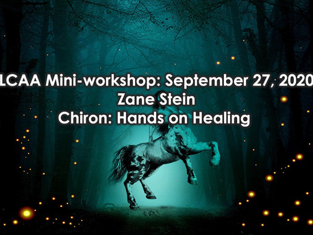 LCAA Mini-workshop: September 27th, 10:30 AM - 12:30 PM on Zoom $25