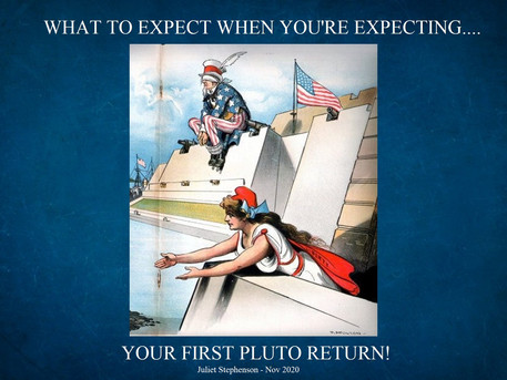 What to Expect When You're Expecting Your First Pluto Return - November 16th 7PM EST via Zoom; $15