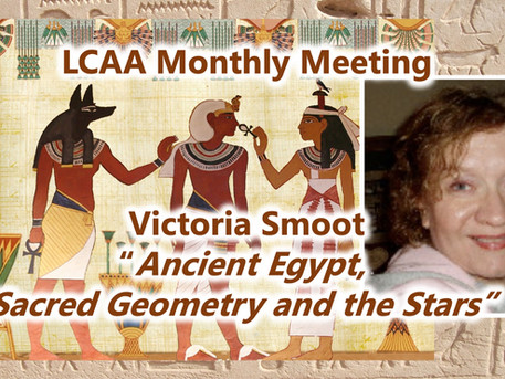 LCAA Monthly Meeting May 24th at 7:30 PM on Zoom