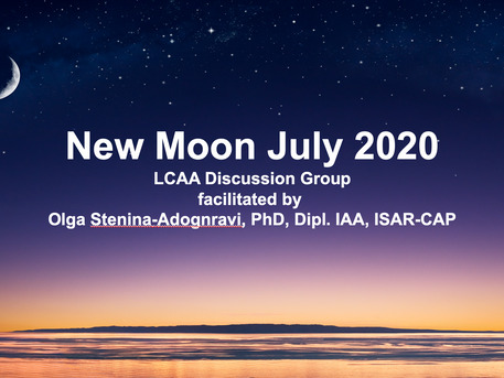 New Moon discussion: Sunday, July 19th, 7 PM via Zoom.