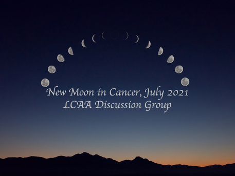 New Moon Discussion July 9th at 7 PM EDT