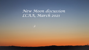 New Moon Discussion, March 12th at 7 PM EST