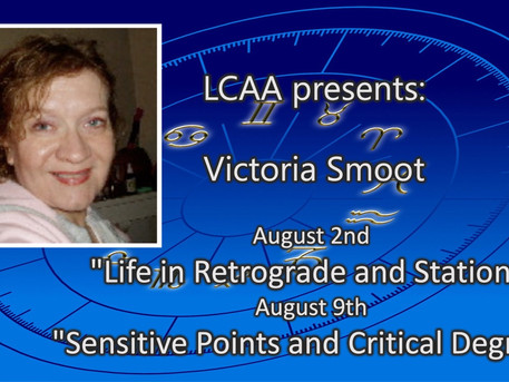 LCAA presents: 2 summer classes with Victoria Smoot, August 2nd and 9th