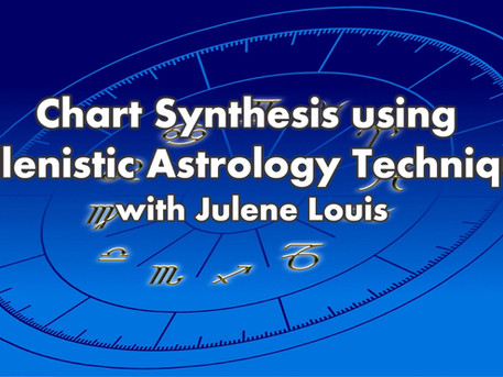Chart Synthesis Using Hellenistic Techniques with Julene Louis