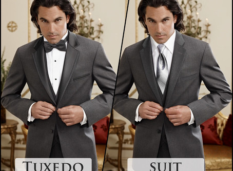 Difference between a Suit and Tuxedo