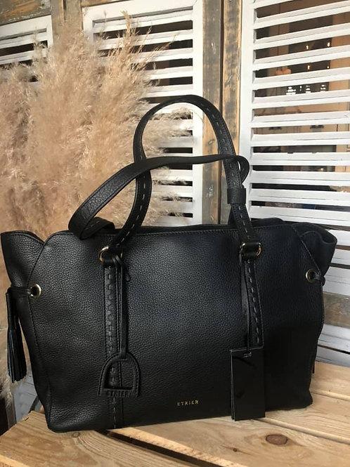 Etrier - très grand sac - noir