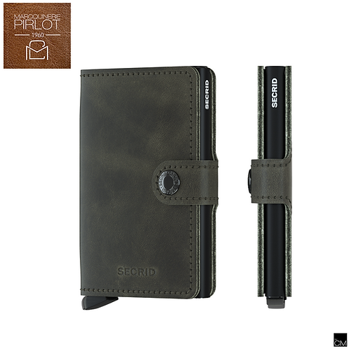 Secrid - Mini Wallet Vintage Olive Black
