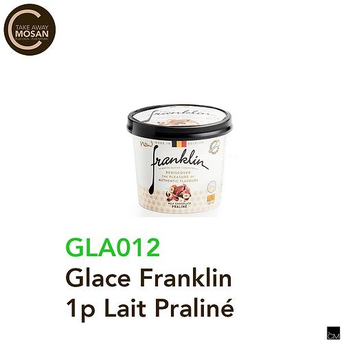 Glace Franklin 100ml Lait Praliné