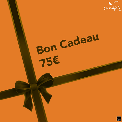 Bon Cadeau 75€