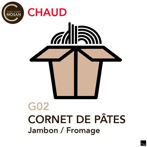 cornet jambon-fromage