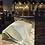 Thumbnail: E914-La Reine des fourmis essuie vaisselle carrés or vert