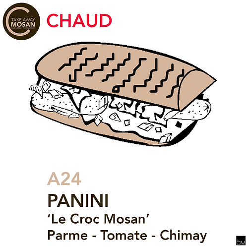 "Panini ""le Croc Mosan"""
