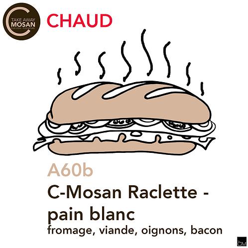 C-Mosan Raclette - pain blanc