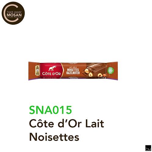Côte d'Or lait noisette