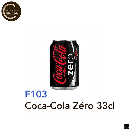 Coca-zero 33cl